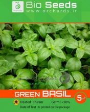 بذر ريحان سبز Bio Seeds